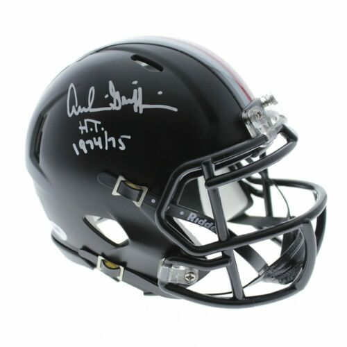 Archie Griffin Autographed Signed Ohio State Buckeyes Riddell Black Mini Helmet