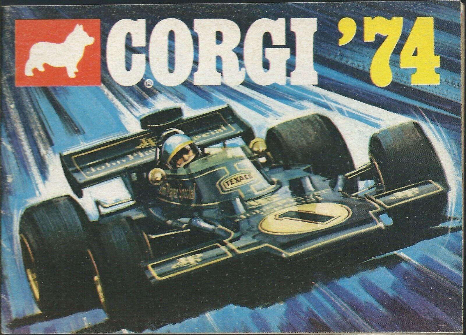 Corgi Toys - Catalogo 1974 - - - Modellismo Inserto in italiano Auto F1 Carri Armati  venta caliente