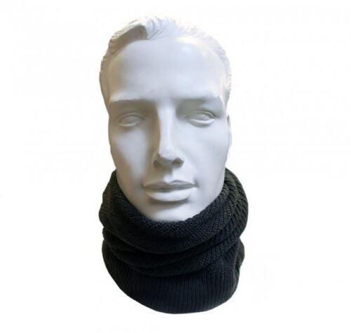Korda NEW Mottled Black Knitted Snood//Neckwarmer//Hat Carp Fishing Clothing