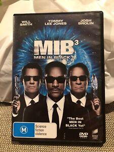 Men-In-Black-3-Dvd-Will-Smith-Tommy-Lee-Jones-R4-PAL-VGC-FREE-POST