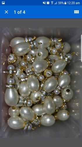 Ivory or gold Tear drop buttons for designer outfits and dresses Latest Fashion!