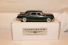 Legendary Motorcars, 1956 Chrysler Crown Imperial Limousine, White Metal, Boxed