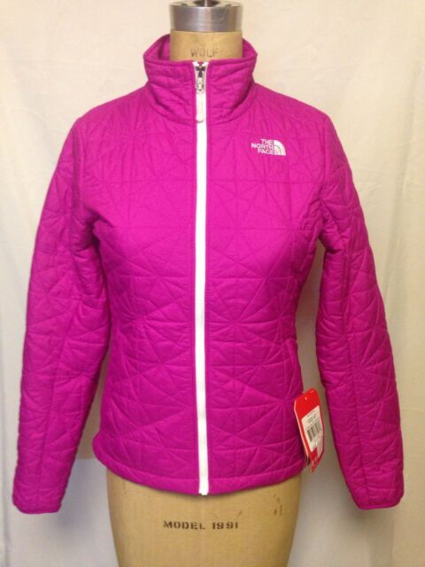 cb558efae The North Face Tamburello Jacket Luminous Pink TNF White Size Small