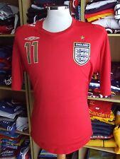 Jersey England 2006/07 (XL)#11 Joe Cole Shirt Umbro Tampa Bay Rowdies Maglia