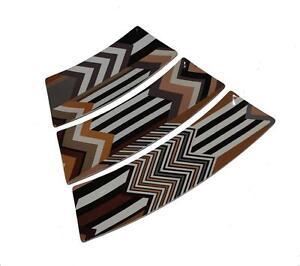 missoni target brown tan black chevron stripe 3 pc puzzle. Black Bedroom Furniture Sets. Home Design Ideas