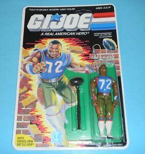 RECARDED-1986-GI-Joe-The-Fridge-Figure-Complete-Sealed-CUSTOM-File-Card-Back