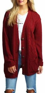 Cable-Knit-Chucky-Cardigan-in-Wine-RRP-29-99