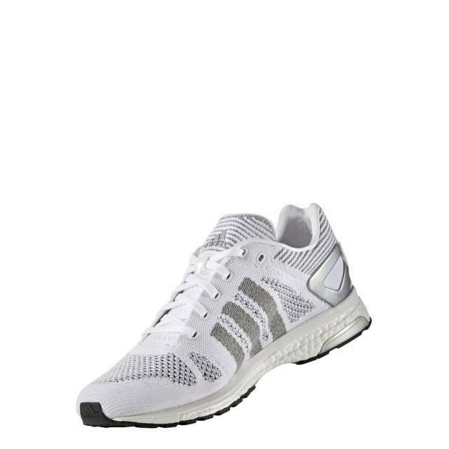 Adidas Adizero Prime Ltd Running shoes, Men's Size 11.5-12 D,  White Silver NEW