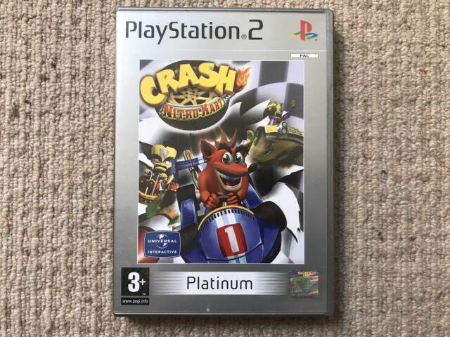 Crash Nitro Kart - Sony Playstation 2 Ps2 sin Instrucciones Pal