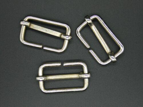 D-anneaux schalufe Métal toriques 4 connexion large bande 30mm