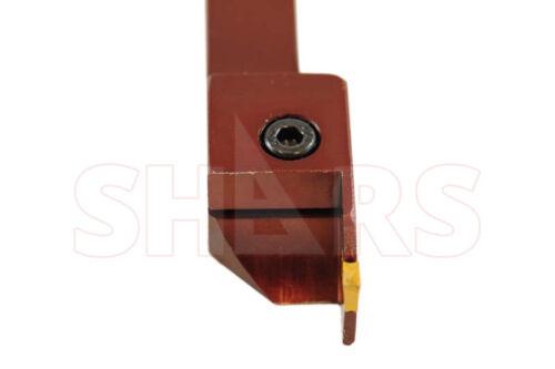 SHARS 3//4 x 3//4 SHANK PRECISION GROOVING /& PROFILE TURNING TOOL HOLDER GTN 2 NEW