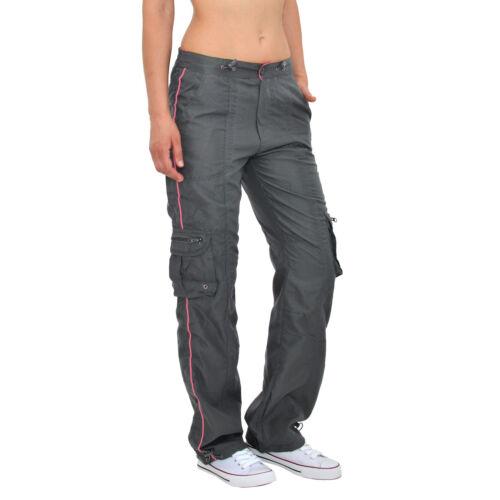Damen Sport Hose Fitness Jogging Cargo Sport Hose für Damen H274