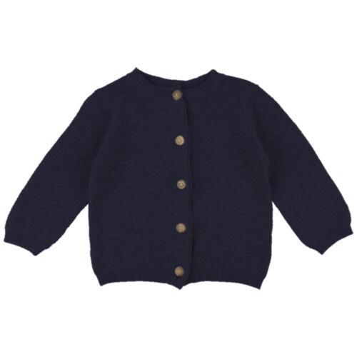 Fixoni 34230 Baby-Strickjacke dunkelblau  dunkelblau