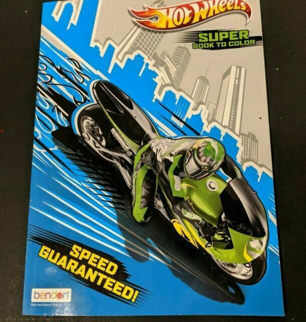 Hot Wheels Big Fun Outrageously Awesome Coloring Book Kids Activities For  Sale Online EBay