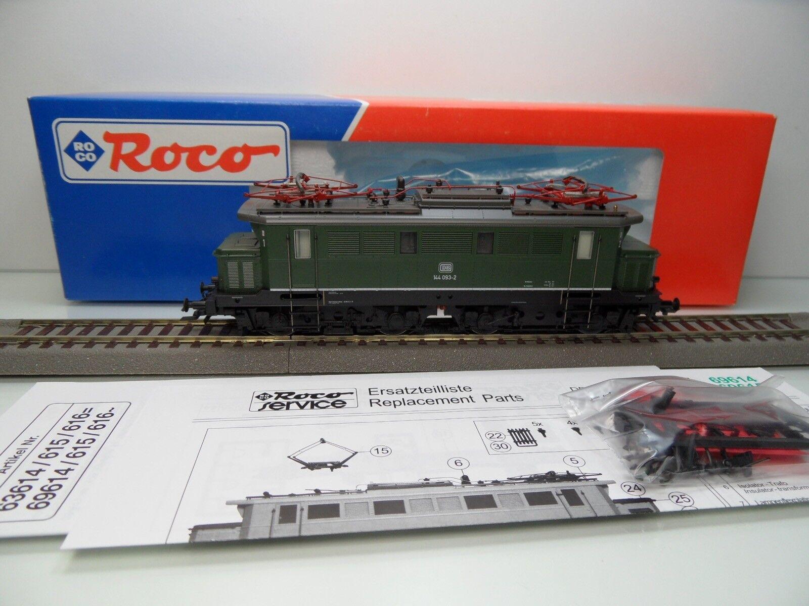 Roco 63614 - H0 - DB - ELok 144 093-2 - DSS - TOP in OVP -  3487