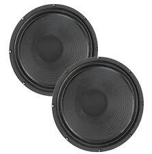 Pair Eminence Patriot Swamp Thang 12 inch Lead Rhythm Guitar Speaker 16 ohm 150W