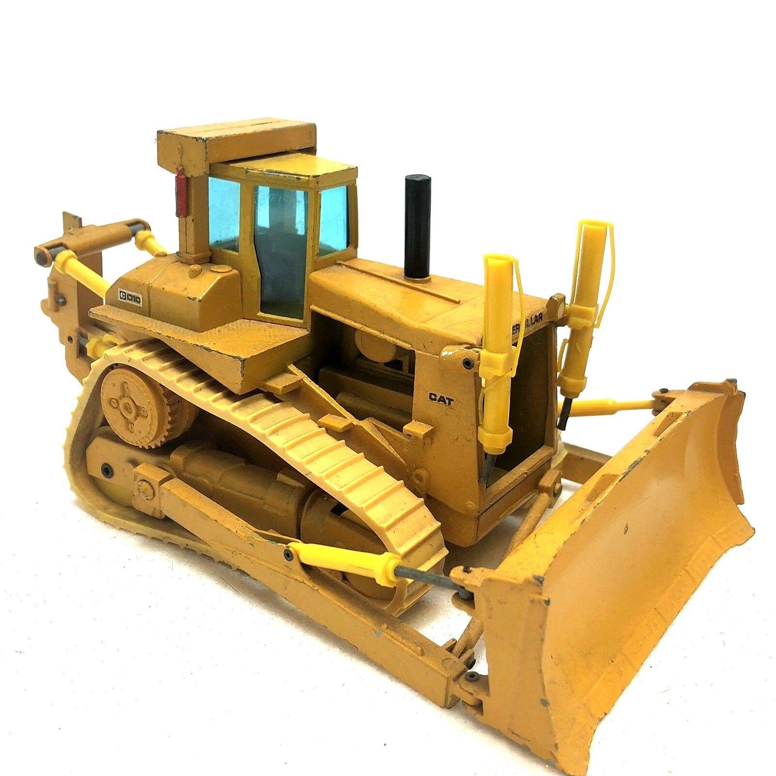 Vintage Caterpillar CAT D11N Dozer W  Ripper Conrad Diecast 1 50 Scale Bulldozer