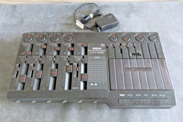 Original Yamaha MT100 Multitrack Cassette Recorder Service Manual