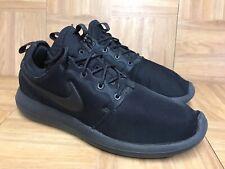 finest selection 03161 e6f00 item 3 RARE🔥 Nike Roshe Two Rosherun Triple Black Blackout Sz 9.5 844656-001  Mens Shoe -RARE🔥 Nike Roshe Two Rosherun Triple Black Blackout Sz 9.5 ...