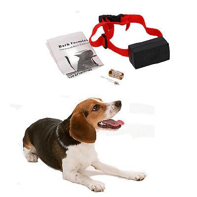 Dog Barking Anti Bark Training Shock Control Collar Pet Training Collar
