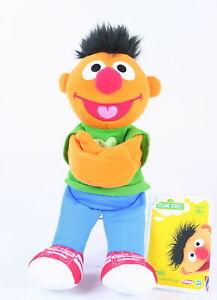 "Sesame Street ERNIE 9"" plush soft toy Hugs Forever Friends Hasbro Playskool NEW!"