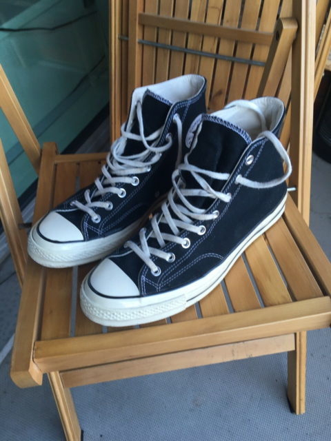 Sneakers, All star converse Chuck, str. 44,5,  Sort,…