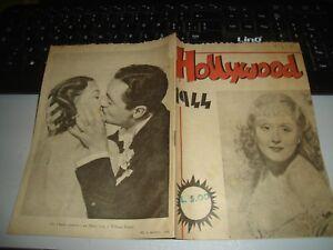 Cine-Folleto-Rare-Hollywood-1944-Ediciones-M-O-L-L-E-F-U-R-Roma-Muy
