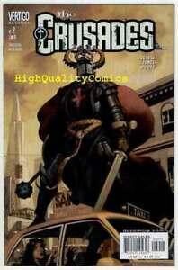 CRUSADES-1-20-NM-Knight-Gangsters-Richard-Corben-Sword-2-3-4-5-6-7-8-9