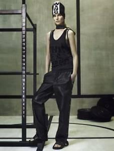 NEW ALEXANDER WANG H/&M TANK TOP WOMEN SHIRT BLACK SIZE XS S M