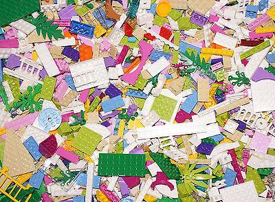 LEGO Lot of 150+ pieces, Colors Pink Purple Aqua lime white tan - Friends