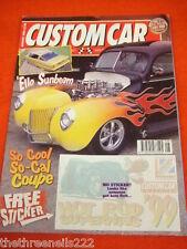 CUSTOM CAR - SO COOL, SO-CAL COUPE - AUG 1999