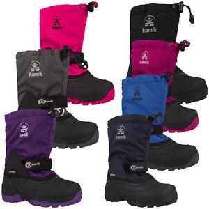 Kamik-Waterbug5G-Kinder-Winter-Boots-Stiefel-Winterstiefel-NK8237-Schnee-Schuhe