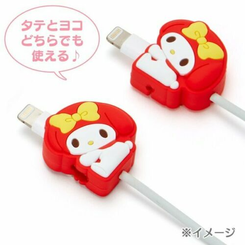 My Melody Lightning Cable Mascot Red Sanrio Kawaii Cute F//S NEW