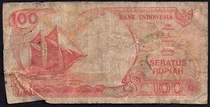 1992-INDONESIA-100-RUPIAH-BANKNOTE-FLH-140688-GOOD-P-127