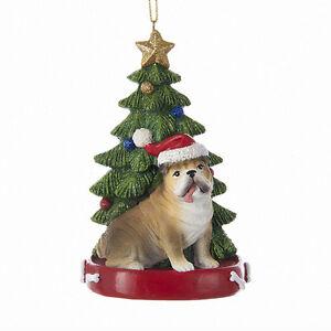 Bulldog-w-Tree-Ornament
