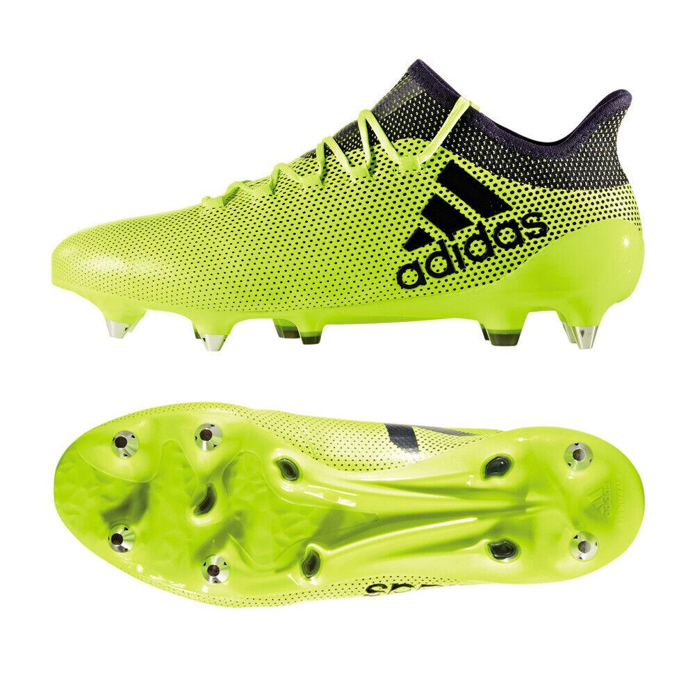 Details zu adidas X 17.1 SG Fußballschuhe Herren Stollen gelb [S82314] Gr. 43 13