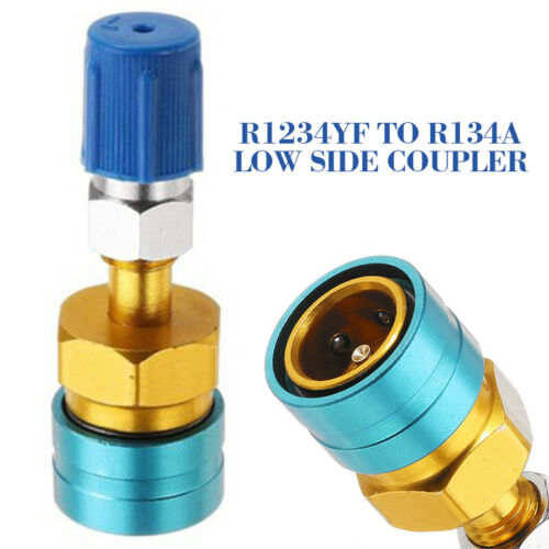 R134a STRAIGHT Quick Coupler x14mm  HIGH Side #6007
