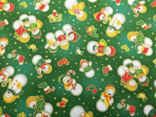 Fabri-quilt ~ Christmas Prints ~ 100/% Fine Cotton ~ per half yard