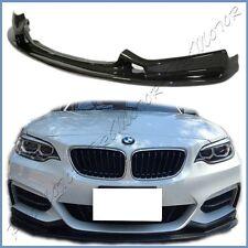 Fit F22 F23 220i 228i M235i M-Sport Front Bumper Carbon Fiber 3D Type Add-On Lip