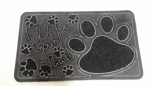 """Pet Mat Rubber Wipe Your Paws 18/""""x30/"""""""