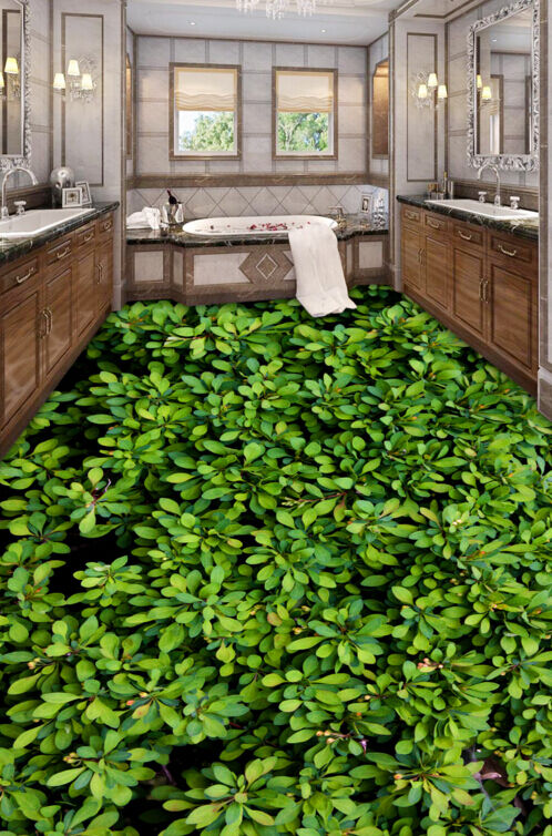3D Grün Plants 5096 Floor WallPaper Murals Wallpaper Mural Print AJ AU Lemon