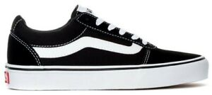 SCARPE-VANS-OLD-SKOOL-NERO-BIANCO-UOMO-DONNA-ORIGINALI-BLACK-WHITE-ORIGINALI