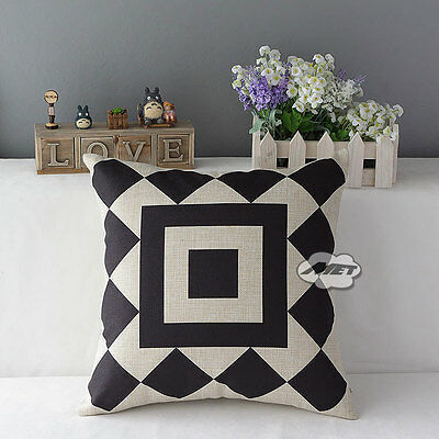 Simple Stripes Geometric Pattern DecorativeThrowPillowCushionCoversCases