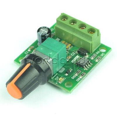 DC 1.8V 3V 5V 6V  2A Motor Speed Switch Controller PWM 1803BK+self-recovery fuse