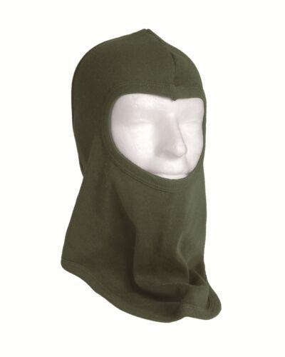 Type militaire un trou EXTRA FORTE 100/% Coton Balaclava Head Warmer pièce