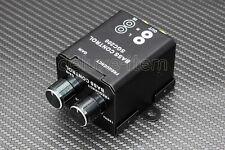Car Home Amplifier Bass Controller RCA Gain Level Volume Control Knob Metal case