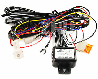 Daytime Running Light DRL Relay Harness Auto Control On/Off Switch RMS New