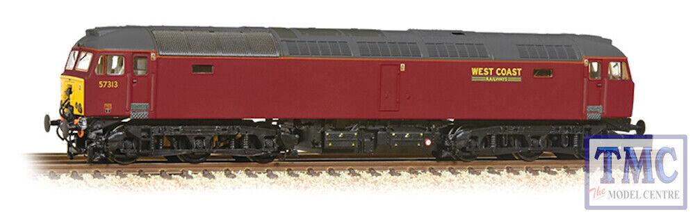 371-658 Graham Farish N Gauge Class 57 3 57313 WCRC Maroon
