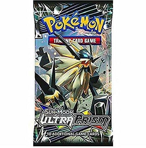Pokemon Ultra Prism Booster Pack Options