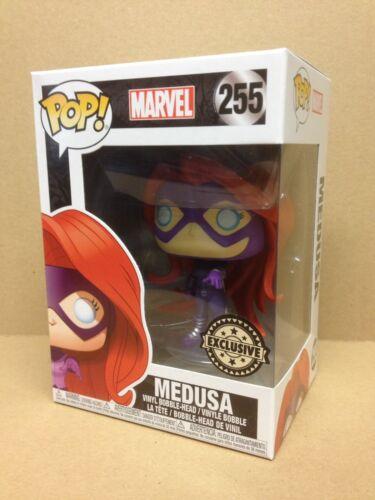 FUNKO POP! Marvel Inhumans Medusa #255 exclusive Vinyl Figure * NOUVEAU * RARE